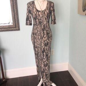 ✨ H&M Snake Print Dress